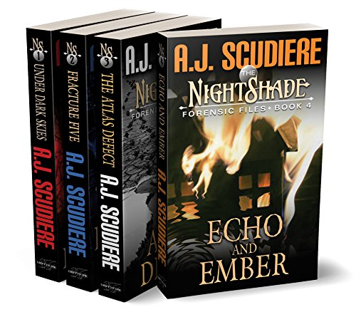 4 Book set - Nightshade
