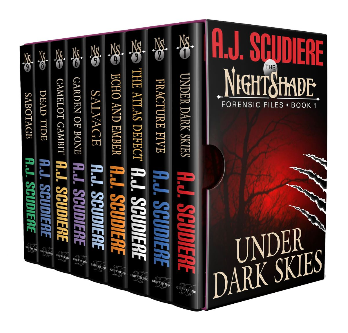 The NightShade Forensic Files: Complete Set (Books 1-9)